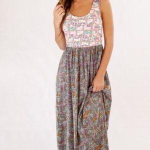 Maaji Boho Printed Maxi Dress